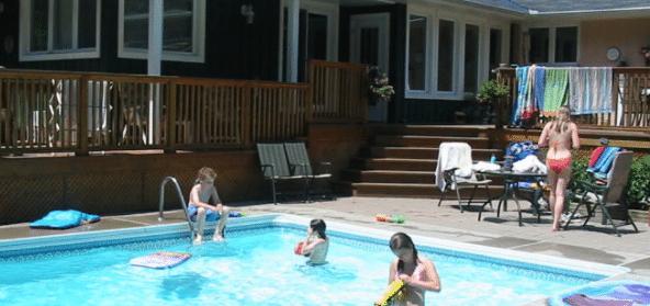 Proper Behavior In The Pool